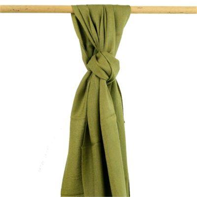 Sjaal olijfgroen 18089