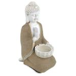 Boeddha van Vrede met waxinelichthouder