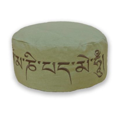2461 love-generation-mantra-meditatiekussen-olijfgroen