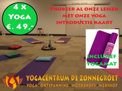 introductie kaart yoga