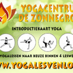 Introductie kaart Yoga