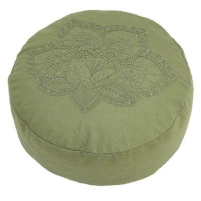2737 lotus-meditatiekussen-groen-yoga-kussen