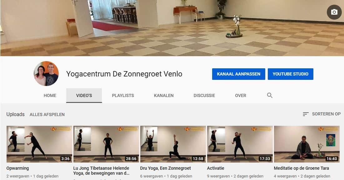 Gratis online yoga- en meditatieles