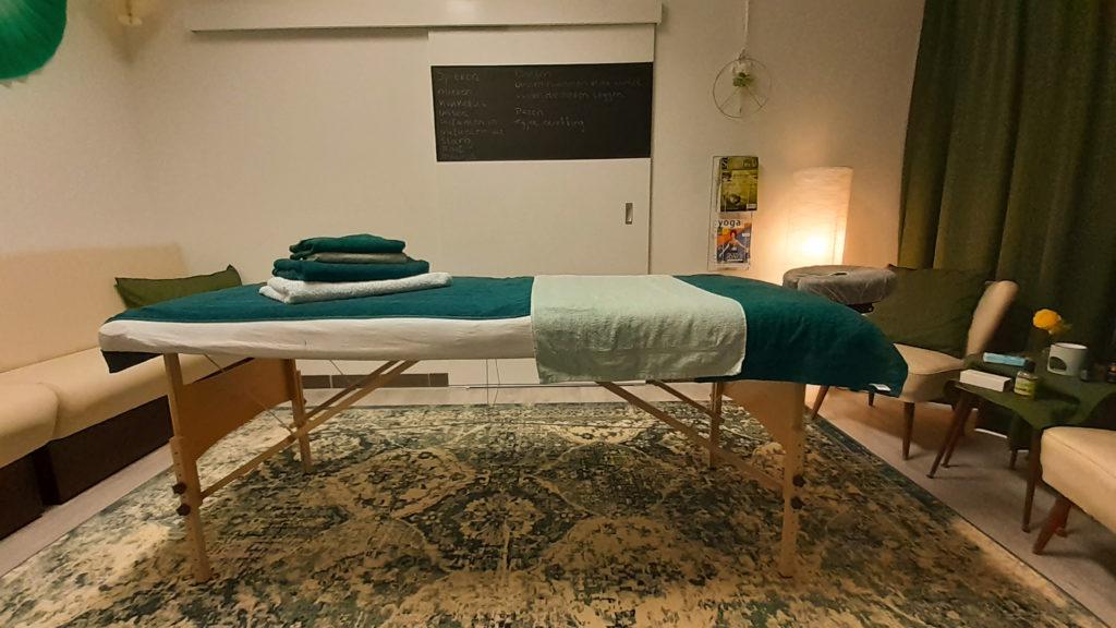 Kum Ny Massage behandelkamer