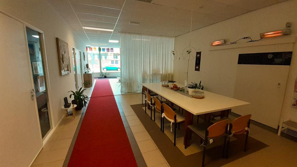 Yogacentrum De Zonnegroet Venlo koffiehoek