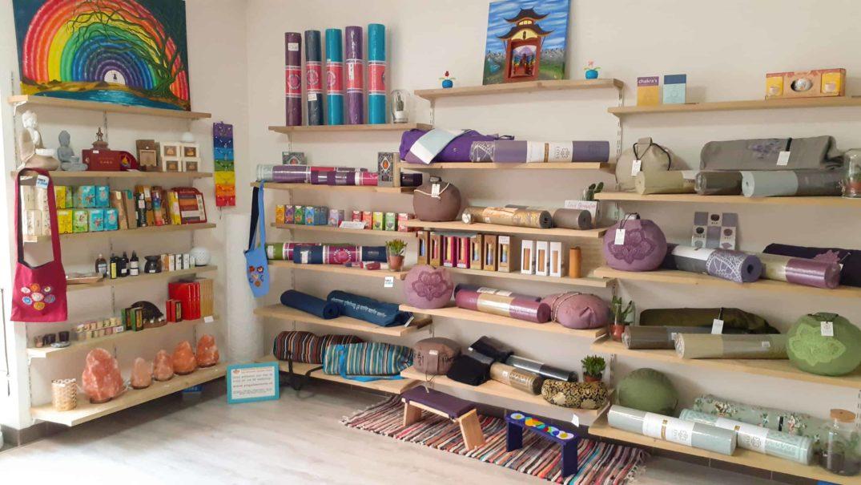 Yogacentrum De Zonnegroet Venlo winkel