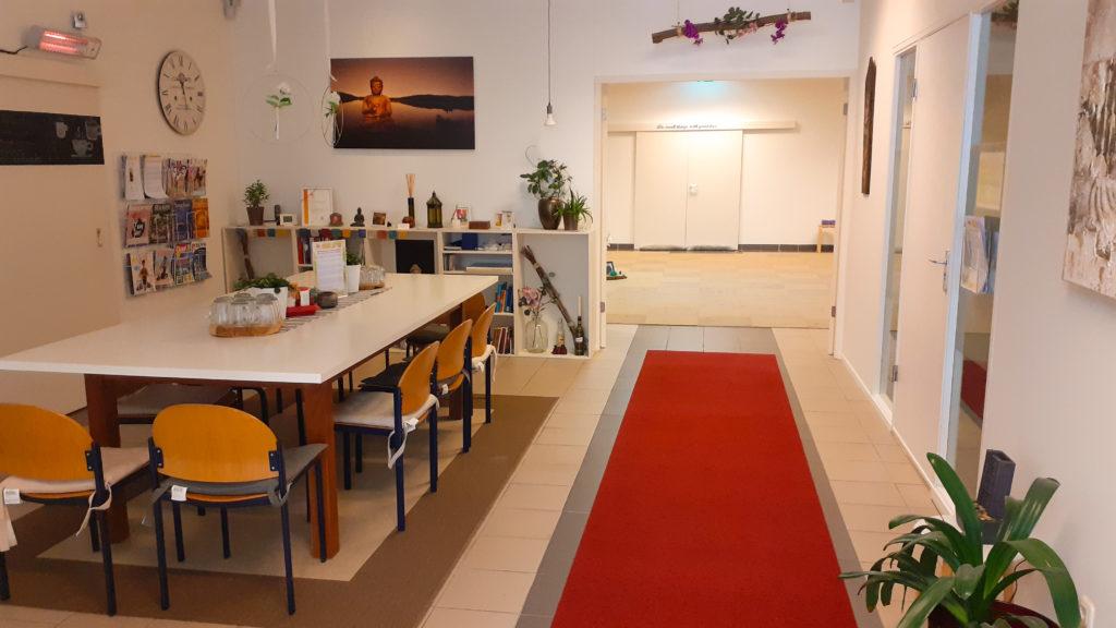 Yogastudio Venlo koffiehoek